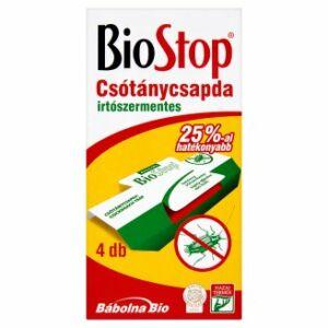 BioStop csótánycsapda 4 db/csomag