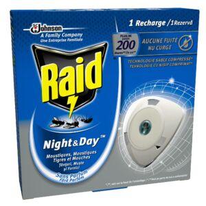 Raid Night&Day elektromos légy- és szúnyogirtó készülék