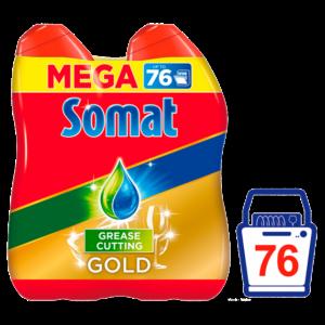 Somat Gold gél mosogatógépbe 2*684ml