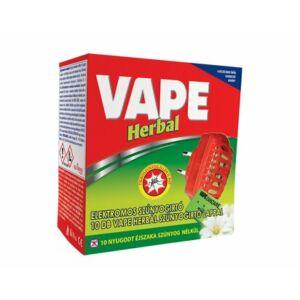Vape Herbal elektromos szúnyogriasztó készülék lapkás