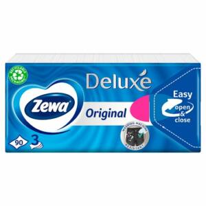 Zewa Deluxe papírzsebkendő 3rét 90db