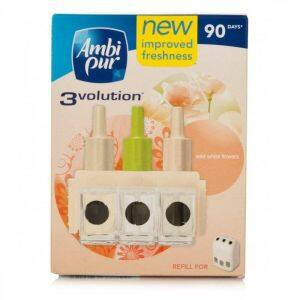 Ambi Pur 3Volution elektromos illatosító utántöltő soft wild flowers