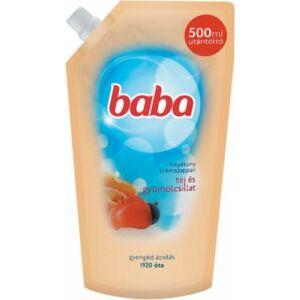Baba folyékony szappan utántöltő tej és gyümölcs 500 ml