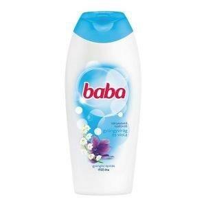Baba tusfürdő gyöngyvirág és viola 400 ml
