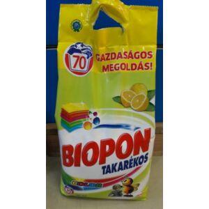Biopon takarékos mosópor color 4,9 kg