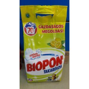 Biopon takarékos mosópor fehér 4,9 kg