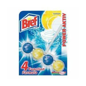 Bref Power Aktív wc illatosító golyó citrom 50 gr