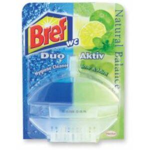 Bref Wc gél Duo Aktív 60 ml lime&mint