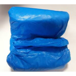 Cipővédő polietilén kék 50 pár/cs