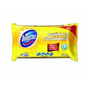 Domestos fertőtlenítő törlőkendő 50 db citrom illat