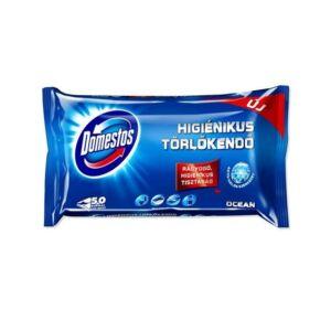 Domestos higiénikus törlőkendő 60 db óceán illat