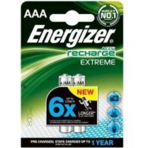 Elem Energizer akku AAA 800 mAh