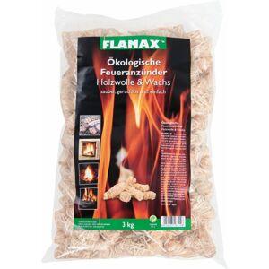 Flamax fa-gyapjú alapú kandalló gyújtó 3 kg