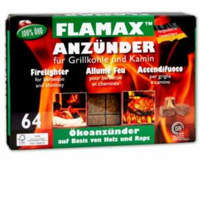 Flamax kandalló gyújtó kocka 64 db