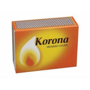 Gyufa Korona normál 10x10 db