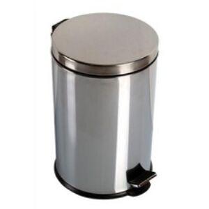 Krómozott pedálos szemetes 3 liter