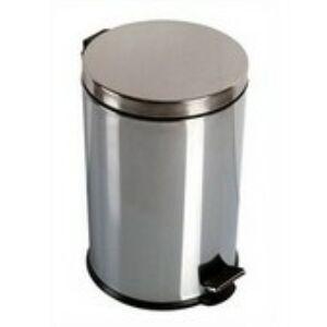 Krómozott pedálos szemetes 5 liter