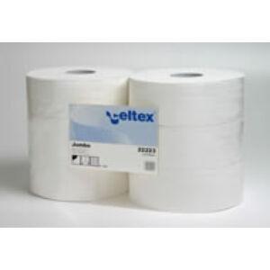 Toalettpapír, 2 rétegű, natúr, 24cm átmérőjű