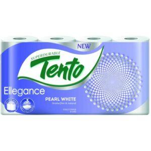 Tento Elegance Pearl White toalettpapír