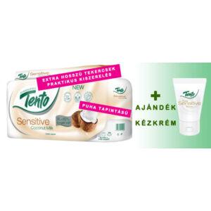 Toalettpapír Tento Sensitive Coconut + Ajándék
