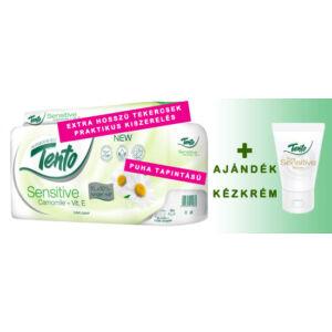 Toalettpapír Tento Sensitive Kamilla + Ajándék