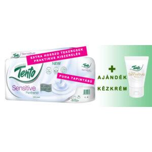 Toalettpapír Tento Sensitive Panthenol + Ajándék