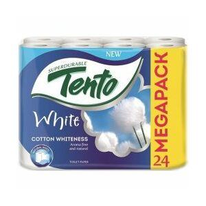 Toalettpapír Tento White 24 tekercs