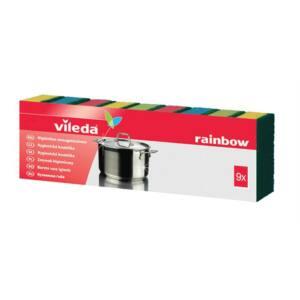 Vileda Rainbow mosogatószivacs 9 db/cs
