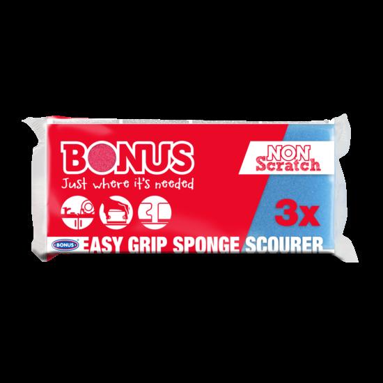 Bonus formázott mosogatószivacs 3db