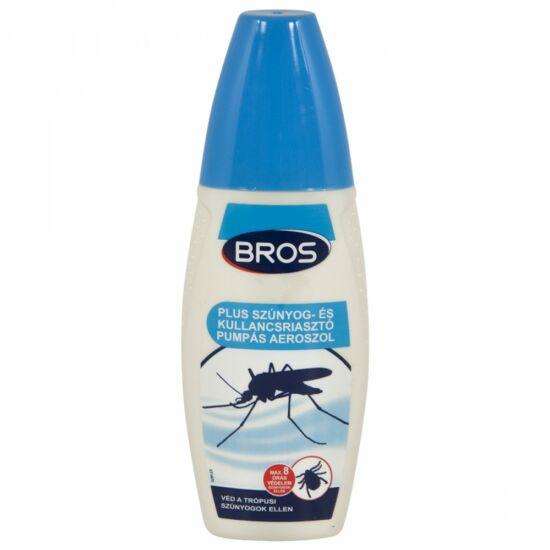 Bros szúnyog- és kullancsriasztó pumpás 100ml