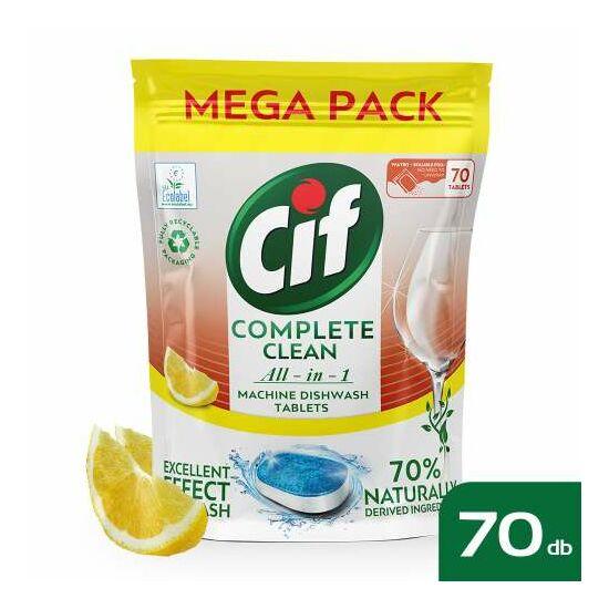 Cif Complete Clean All-in-1 tabletta mosogatógépbe 70db