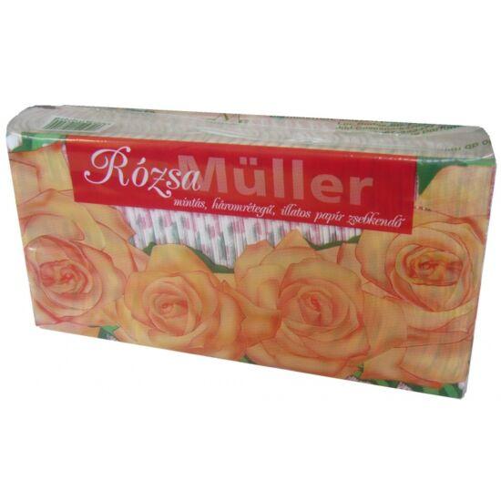 Müller papírzsebkendő 3 rétegű 80 db