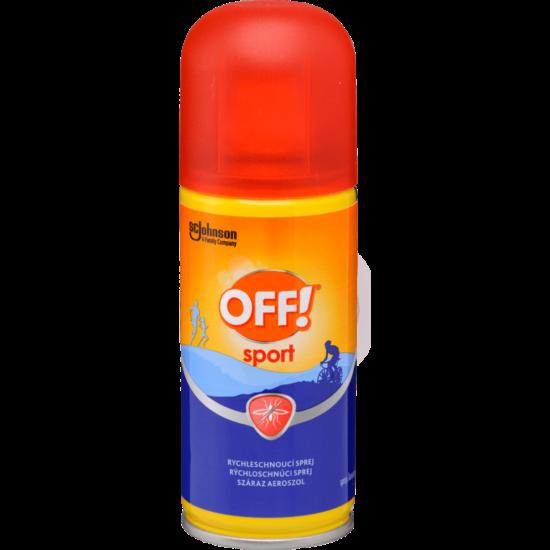 Off! Sport rovarriasztó száraz aeroszol 100ml