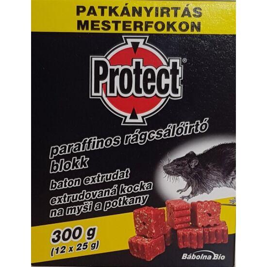 Protect paraffinos rágcsálóirtó blokk 300gr