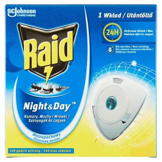 Raid Night&Day elektromos légy- és szúnyogirtó készülék utántöltő