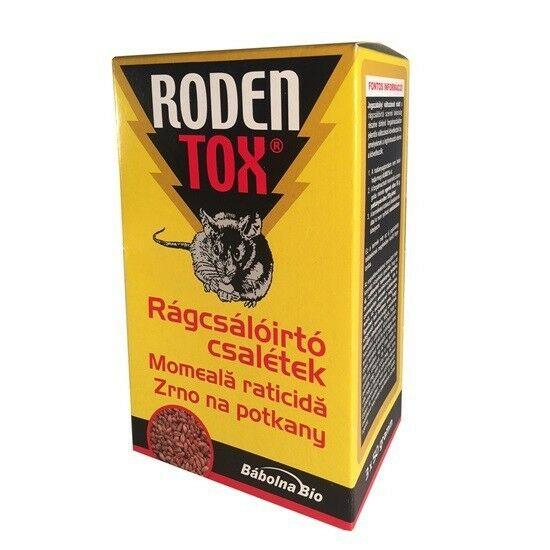 Rodentox rágcsálóirtó csalétek 3*50gr