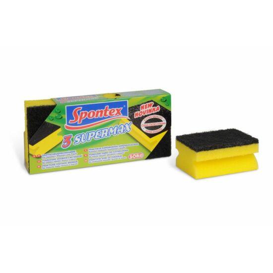 Spontex SuperMax súrolószivacs 3db
