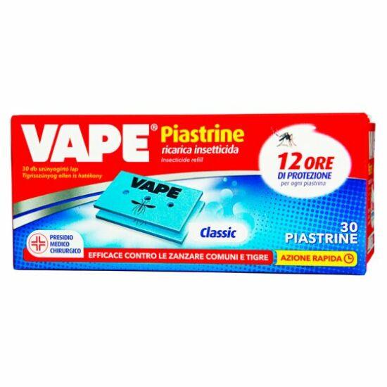 Vape Classic elektromos szúnyogriasztó utántöltő lapka 30 db