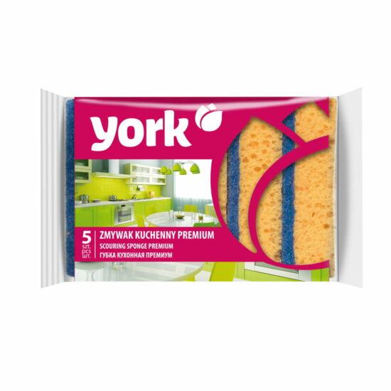 York Premium konyhai szivacs 5db