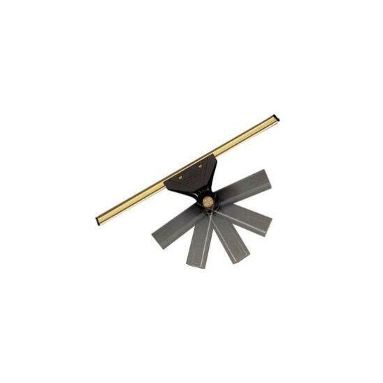 Ablaklehúzó forgatható fejjel fém 35 cm