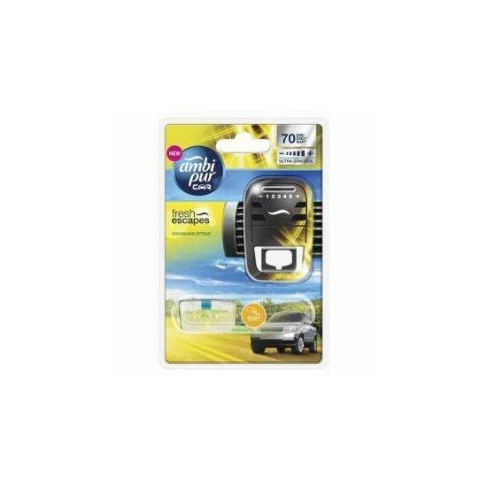 Ambi Pur Car illatosító készülék sparkling citrus illat