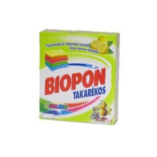 Biopon takarékos mosópor color 280 gr