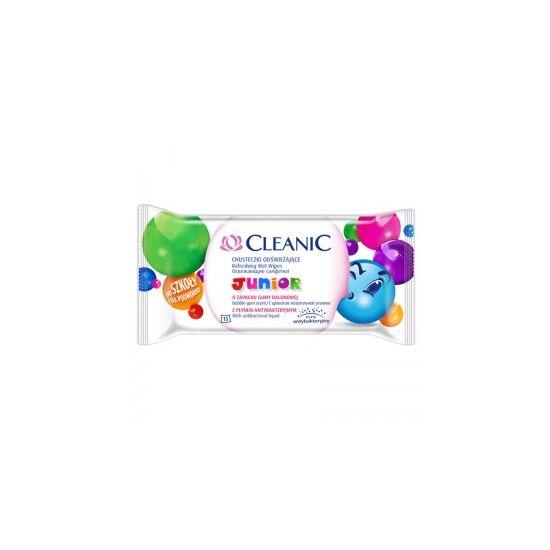 Cleanic nedves törlőkendő junior 15 db