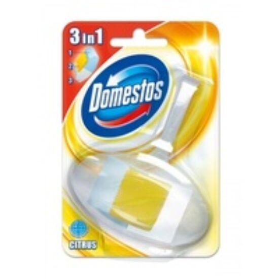 Domestos 3in1 WC rúd kosaras citrom