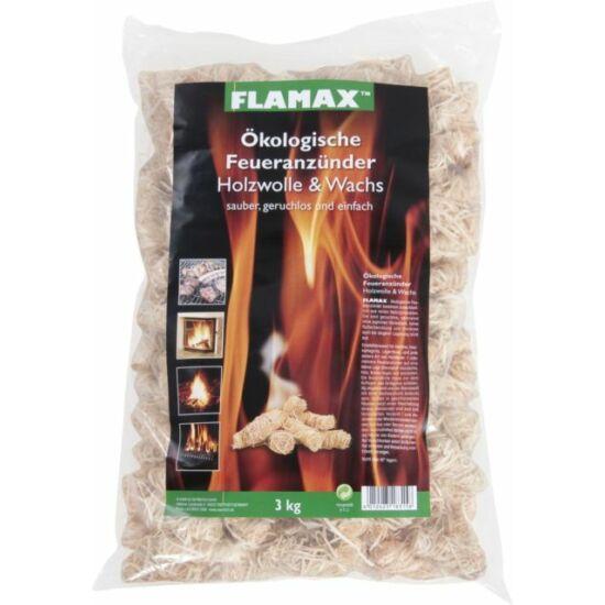 Flamax fa-gyapjú alapú kandalló gyújtó 1 kg