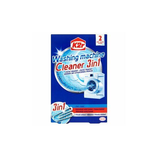 K2R mosógép tisztító 2x75 gr