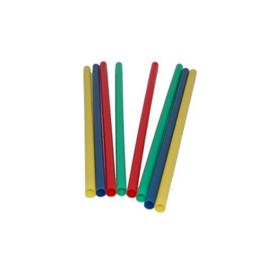 Műanyag szívószál koktélos vastag színes 500 db