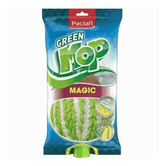 Paclan felmosó fej Green mop Magic