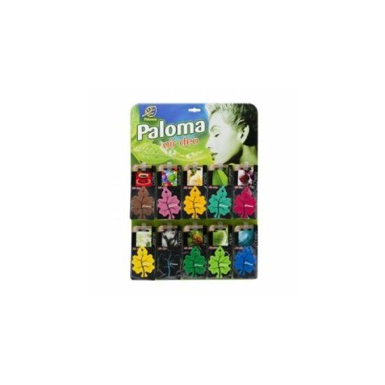 Paloma Gold lapkás autóillatosító