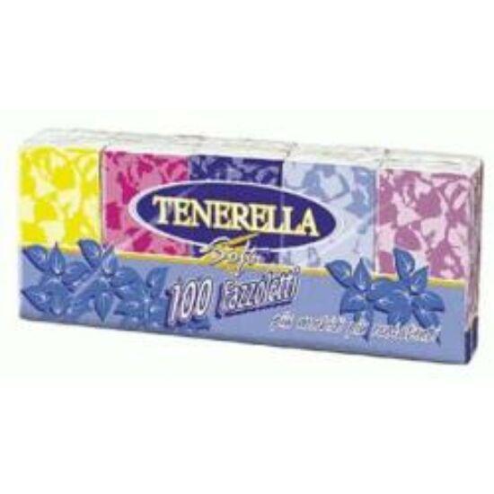 Papír zsebkendő Tenerella Soft 10 x 10 db